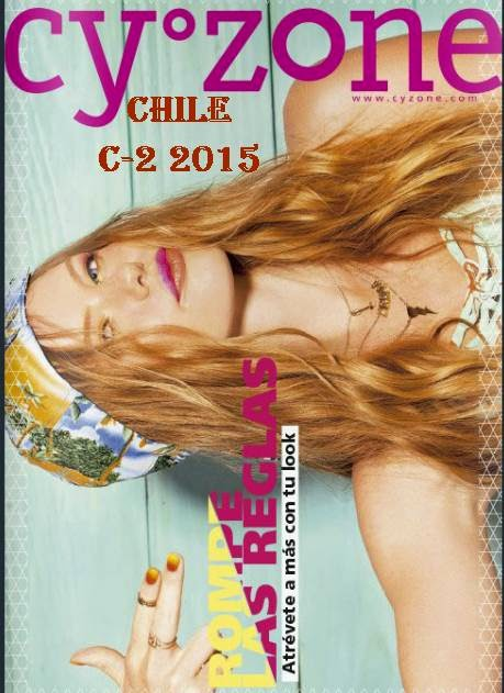 Catalogo Cyzone chile Campaña 2 2015