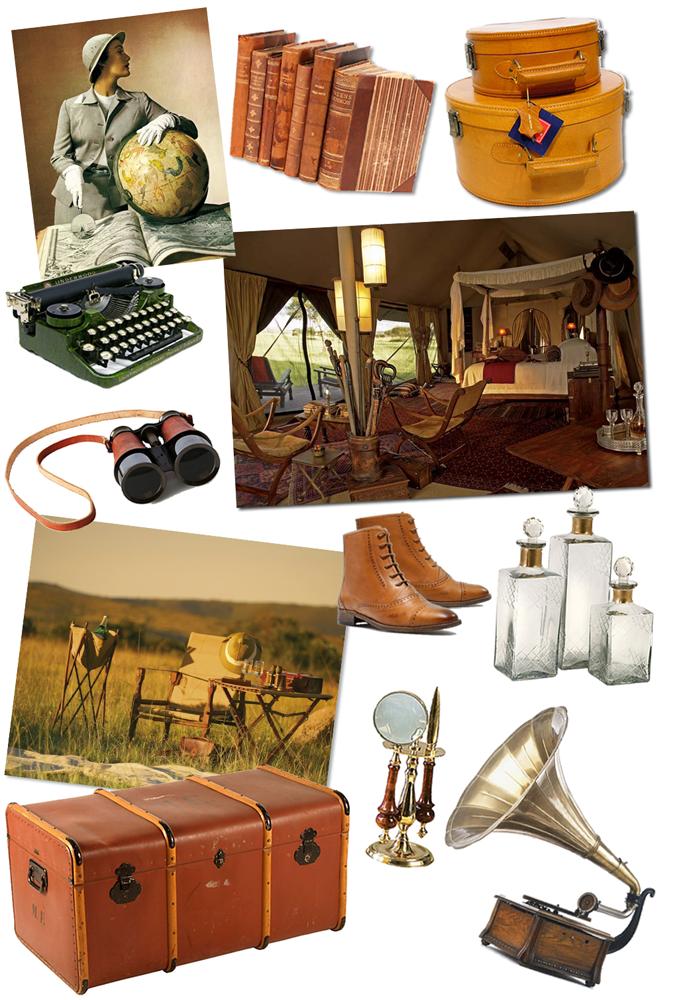 Earnest hemingway decorating style thomasville furniture for Safari style home decor