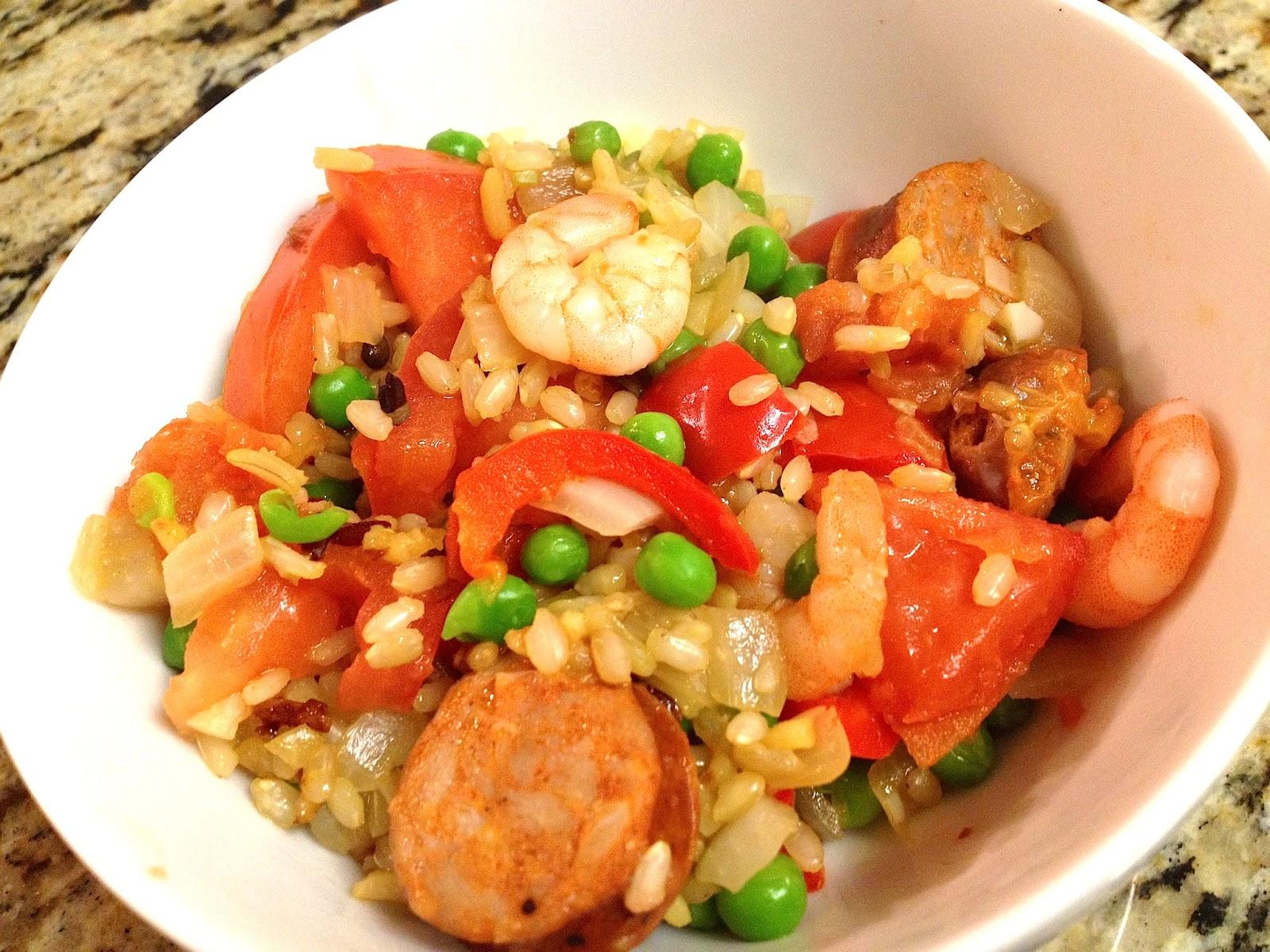 thirdculturefoodie: Shrimp and Chorizo Paella