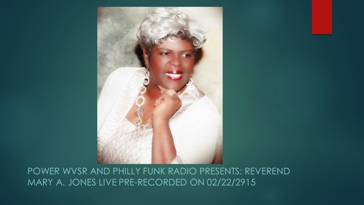 REVEREND MARY A. JONES: NEWNESS OF LIFE TALK SHOW.  CLICK ON THE IMAGE BELOW TO LISTEN