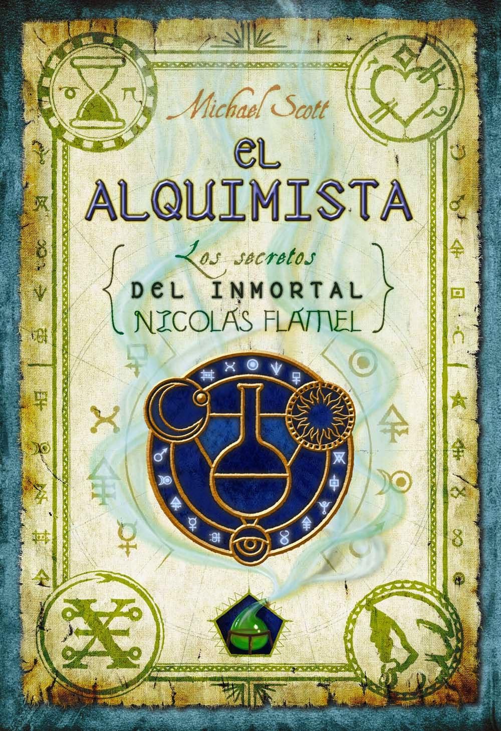 Libros Fantasia  El Alquimista Los Secretos Del Inmortal