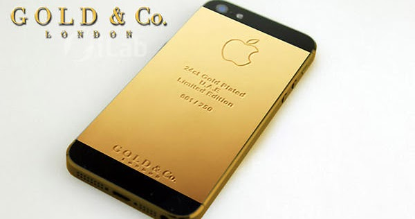 Cheval Life: World's first pure gold iPhone 5