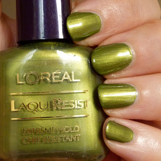 L'Oreal LaquiResist Nail Polish in Raindance