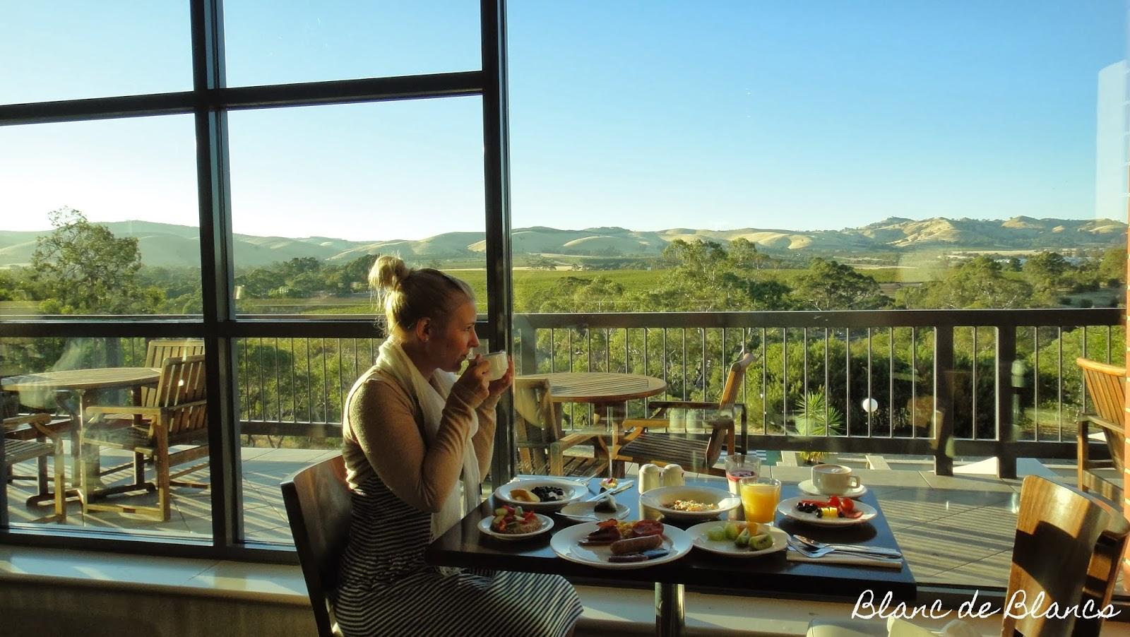 Australialainen aamiainen Barossa Valleyssä - www.blancdeblancs.fi