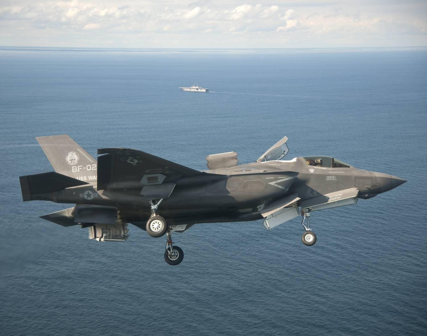 Naval Open Source INTelligence: F-35 in new dogfight over ...