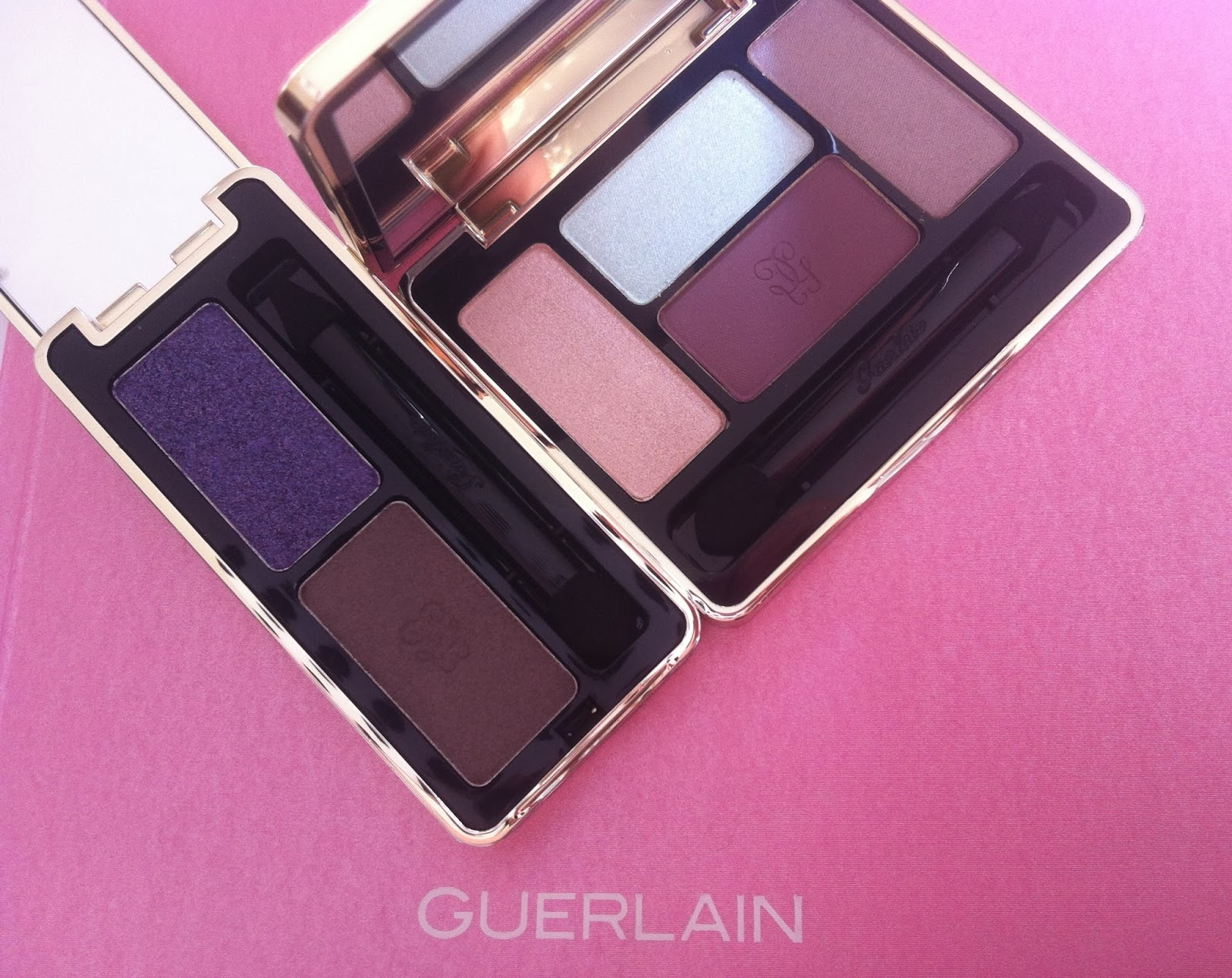 Guerlain make up spring 2014 Météorites Blossom Collection, Ecrin 4 couleurs les tendres, Ecrin 2 couleurs two vip