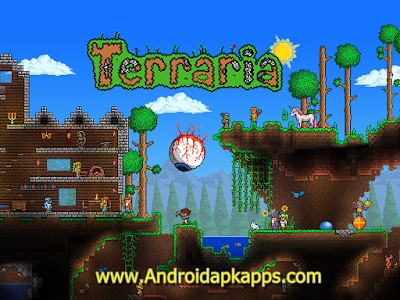 Game Terraria 1.1.6299 (Full) Apk Free Download + Data