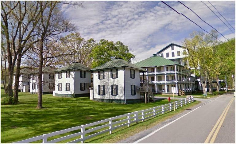 Orkney Springs Hotel near Bayse, Virginia  http://jollettetc.blogspot.com