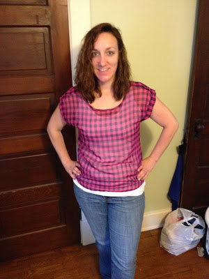 Holden Scoop Neck Blouse - StitchFix