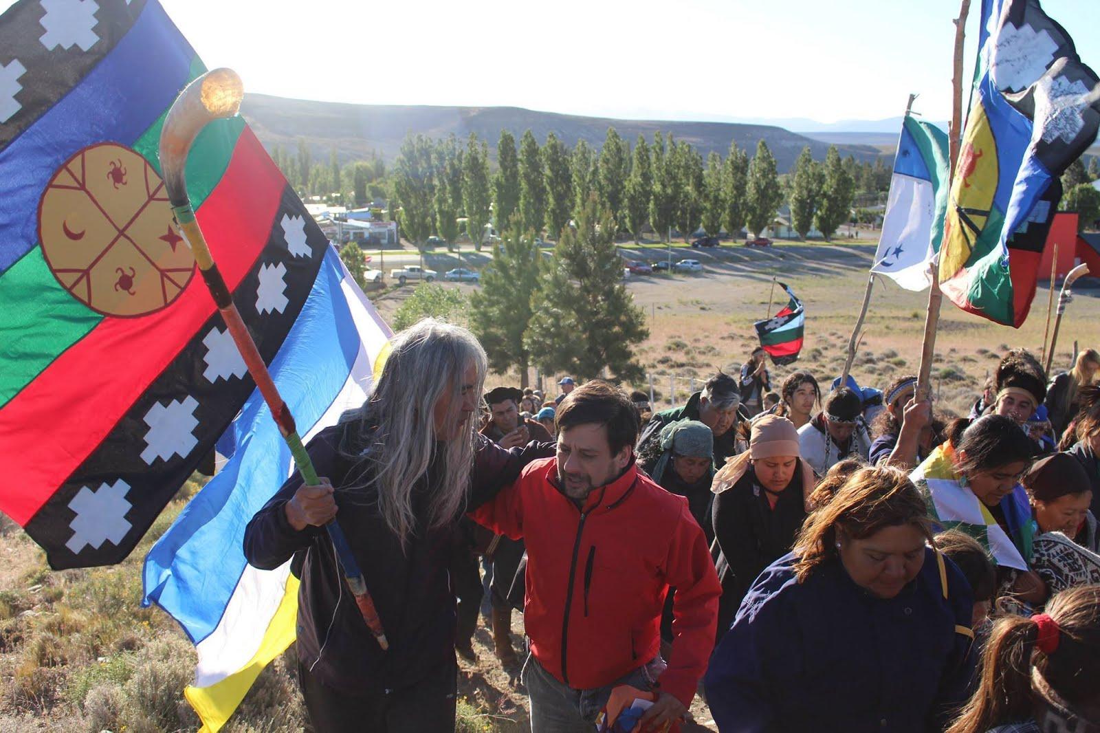 Restitución en Tecka, Chubut. 10 de diciembre de 2014.