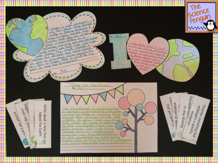 Classroom Writing Ideas : Classroom freebies too fun earth day writing activities