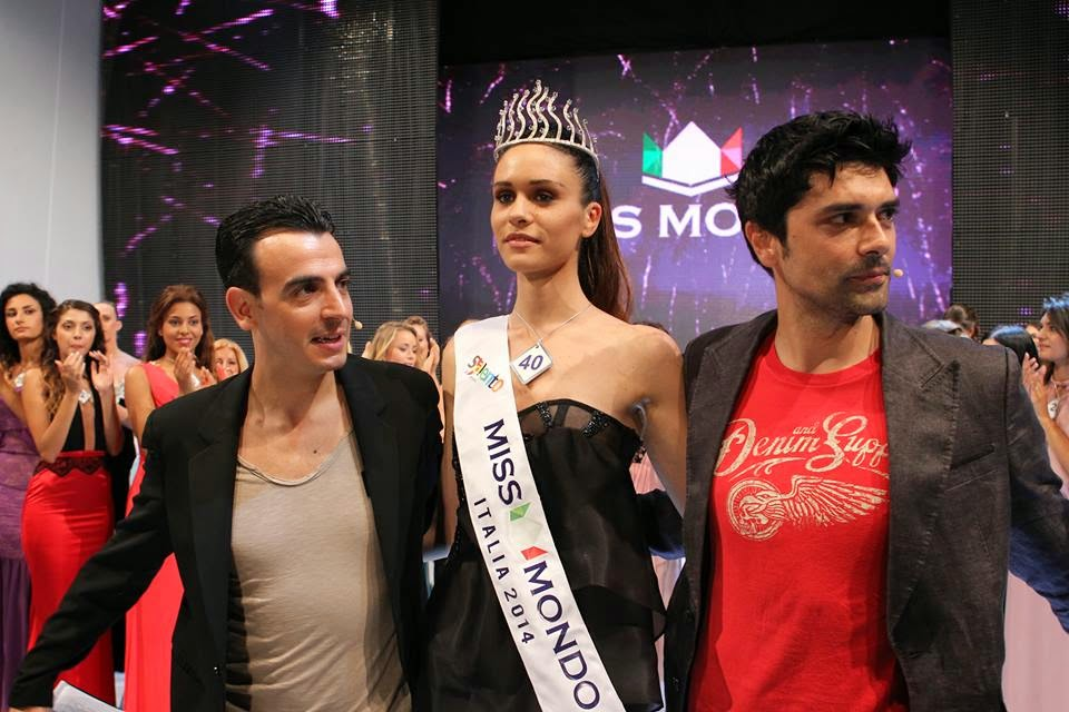 Miss Mondo Italia 2014 winner Silvia Cataldi