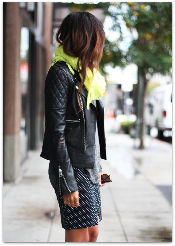 Art Symphony: Black Leather Jacket