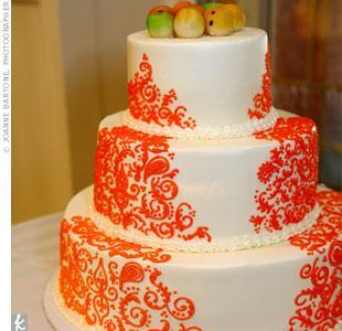 Layer Cake Couleur Orange