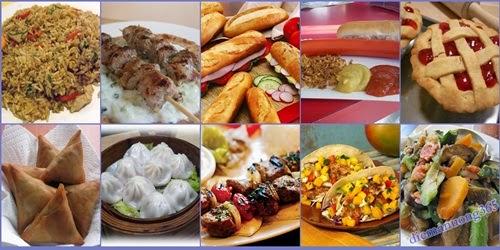 10 món ăn đường phố giá rẻ, cực ngon trên thế giới