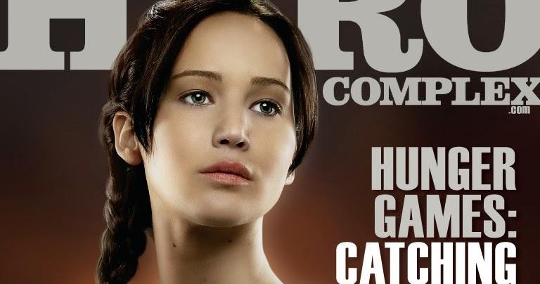 Katniss Everdeen en la tapa de Hero Complex Magazine, de ...