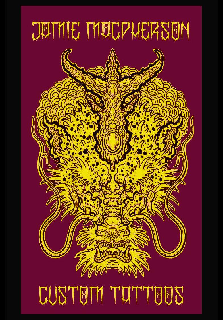 Custom Tattooing by Jamie Macpherson
