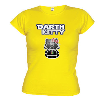 Camiseta Friki Darth Kitty