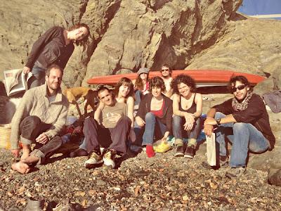 Grupo de científicos y amigos que ayudaron a nacer a Pelopantón