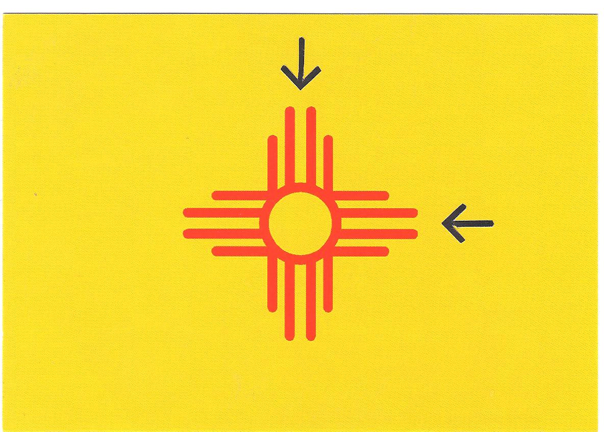 Las cruces report new flag for the land of evangelism next is the evangelical version on the state legislators desks apparently to remind and warn certain members their loyalty to their oath our state and buycottarizona