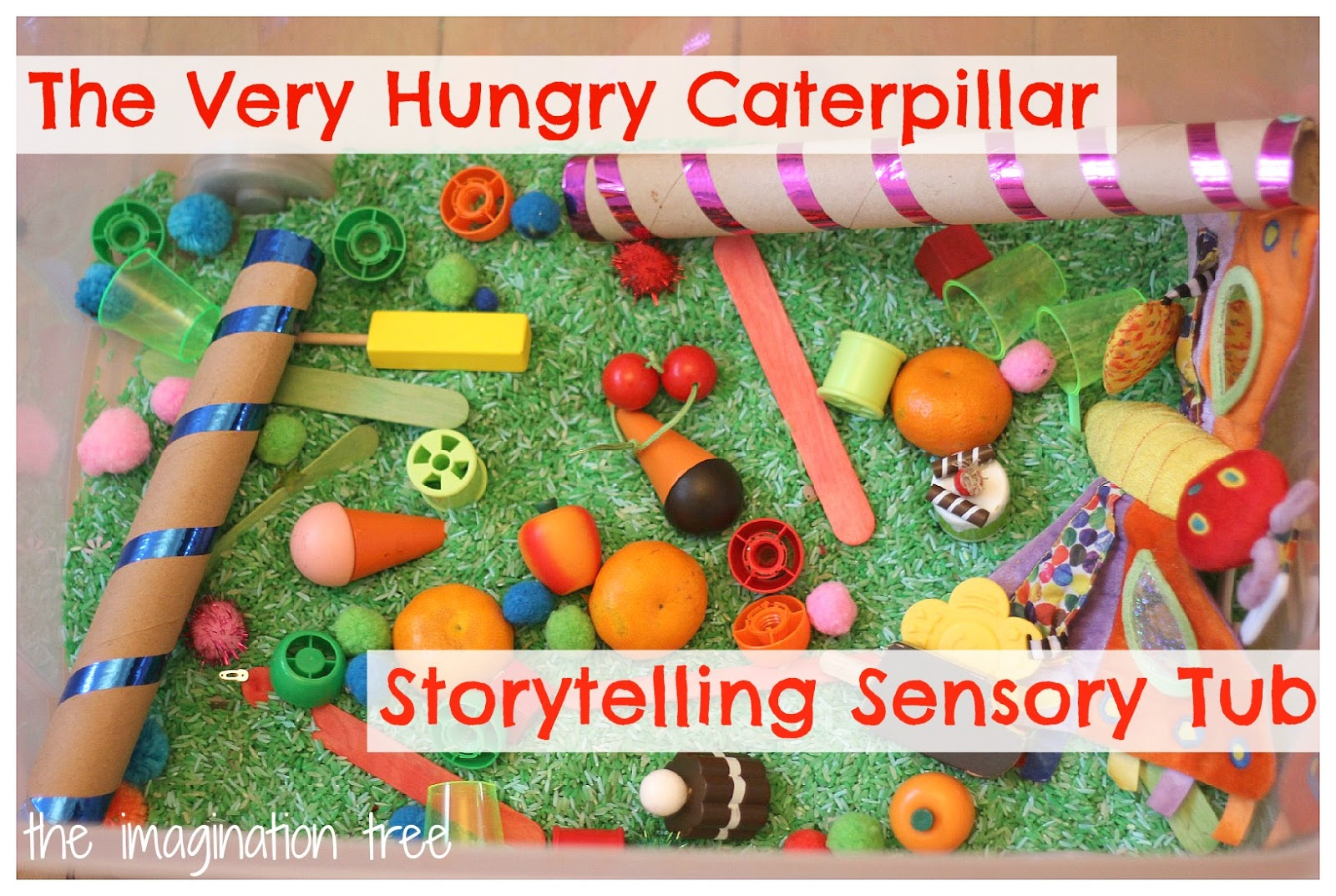 The very hungry caterpillar sensory storytelling tub the imagination