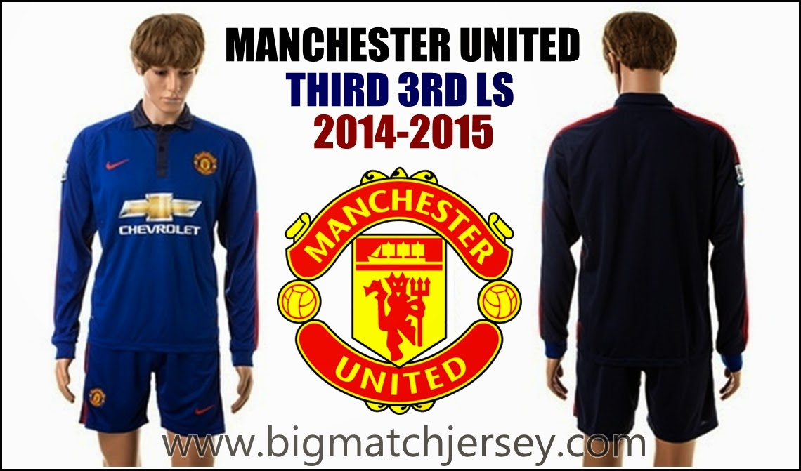 Jersey GO Manchester United Longsleeve Third Official 2014-2015