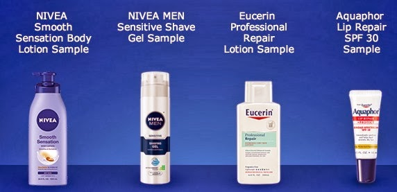 Free sample of Nivea skin care