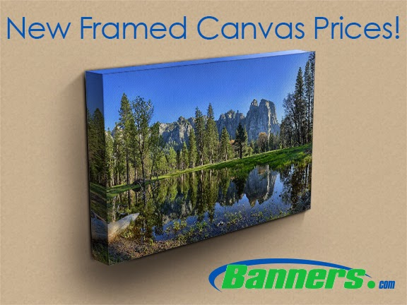 New Low Prices for Framed Canvas Wall Art | Banners.com
