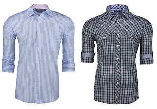 Get Flat 50% + 20% extra Off on Men's Casual / Formal Shirts. Price Starts from Rs.399 ( 20% Extra Off Valid for Online Payment Only)