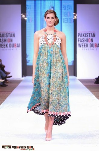 Nickie Nina at Pakistan Fashion Week Dubai 2014-15