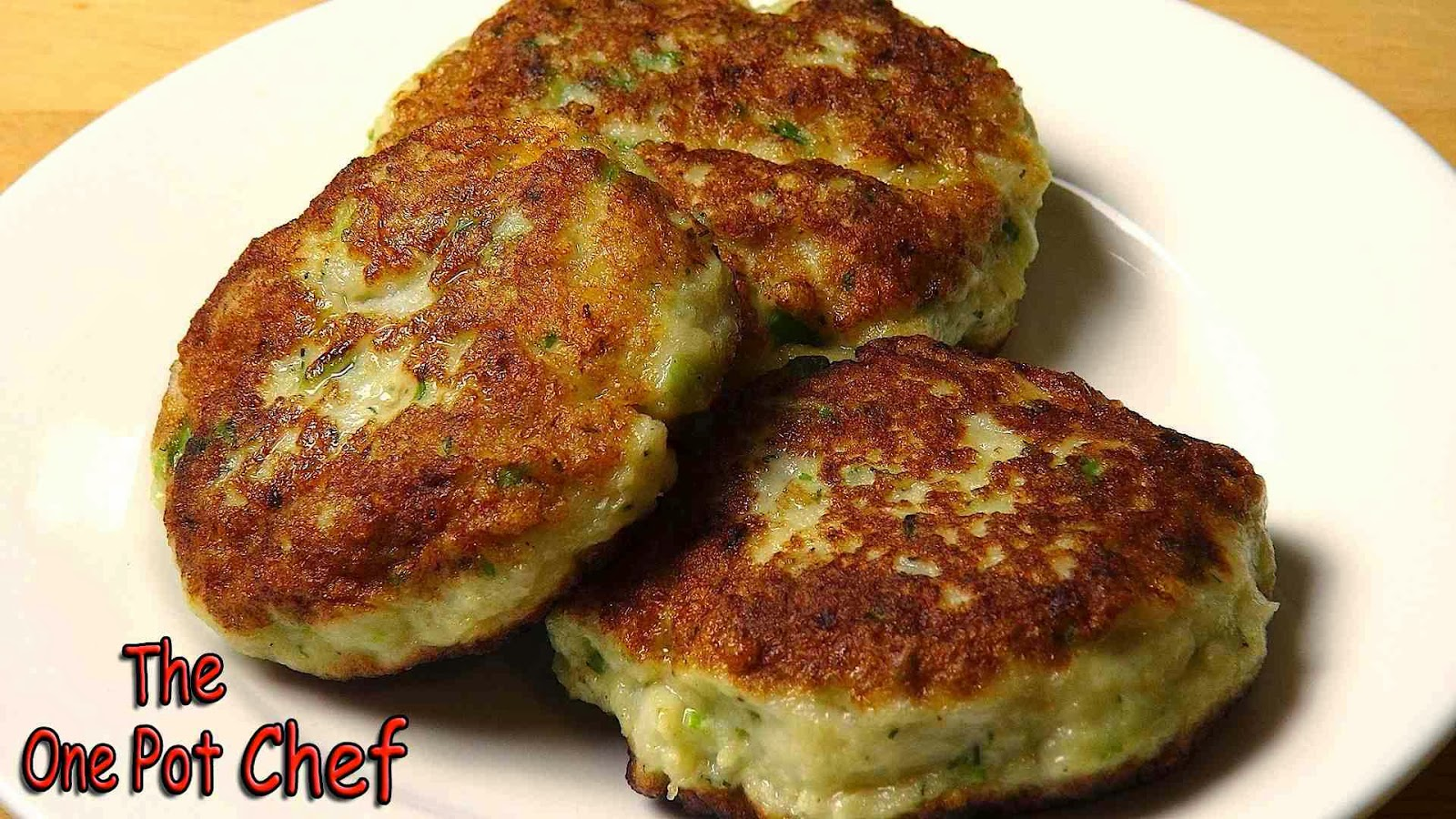 The one pot chef show easy fish cakes recipe for Fish cake recipe