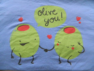 olive you shirt via maegal