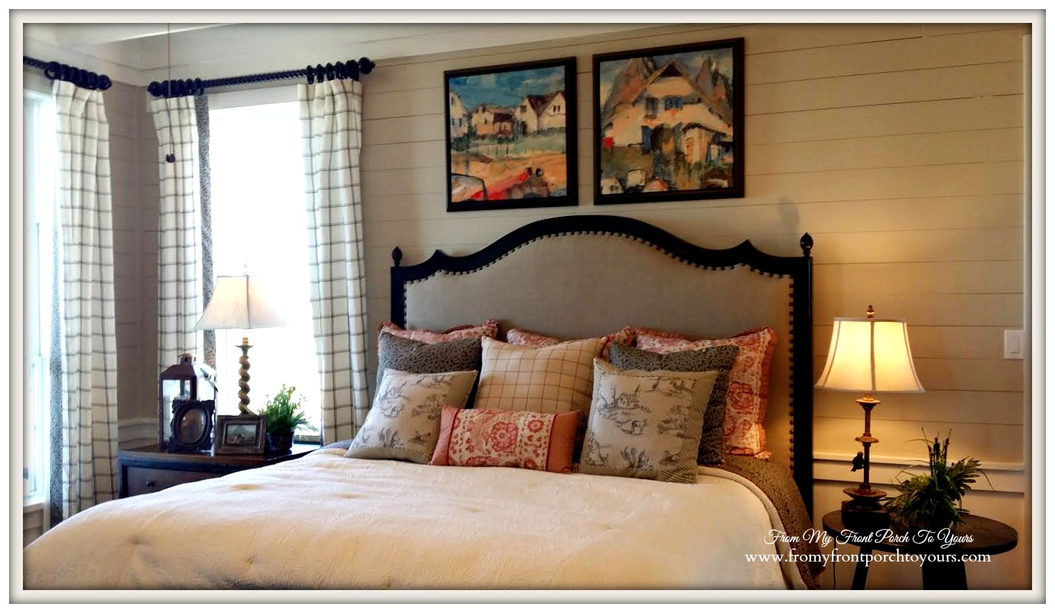 Texas Farmhouse Master Bedroom-RoundTop Texas-Trendmaker Homes-From My Front Porch To Yours