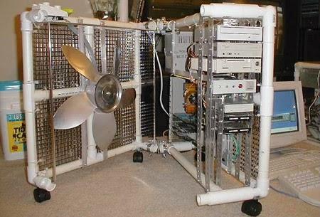 IBM intenta evitar imágenes como esta con su tecnología de refrigeración