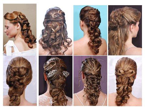60 peinados de novia 2016 de todos los estilos ¡elige el tuyo! - Peinado Semi Recogido Para Boda