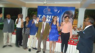 Juramentan a Tania Hidalgo como  secretaria general CDP