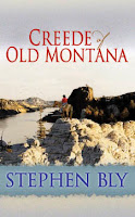 western novel Creede of Old Montana hardback large print