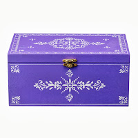 Pudełko (purpurowe) Bloomingville