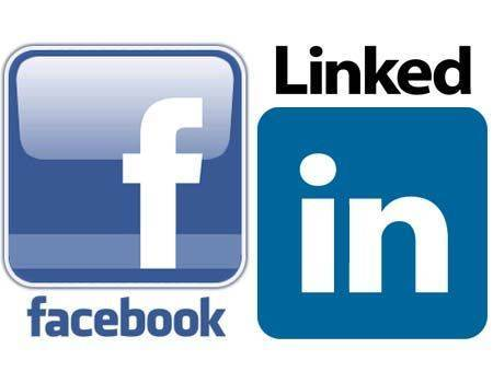 Facebook e Linkedin para procurar emprego