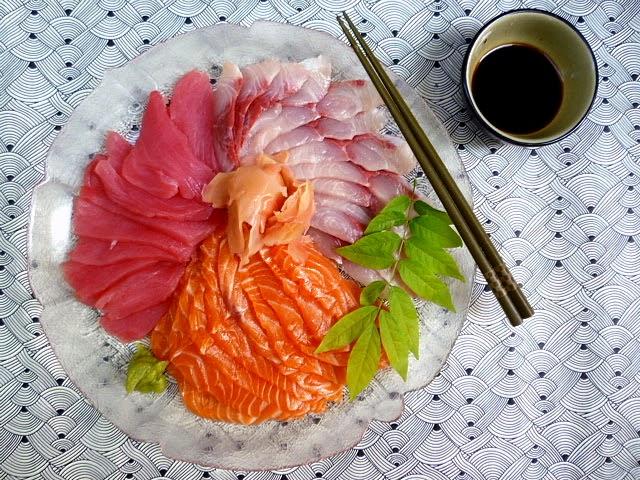 3 hungry tummies sashimi for Sashimi grade fish