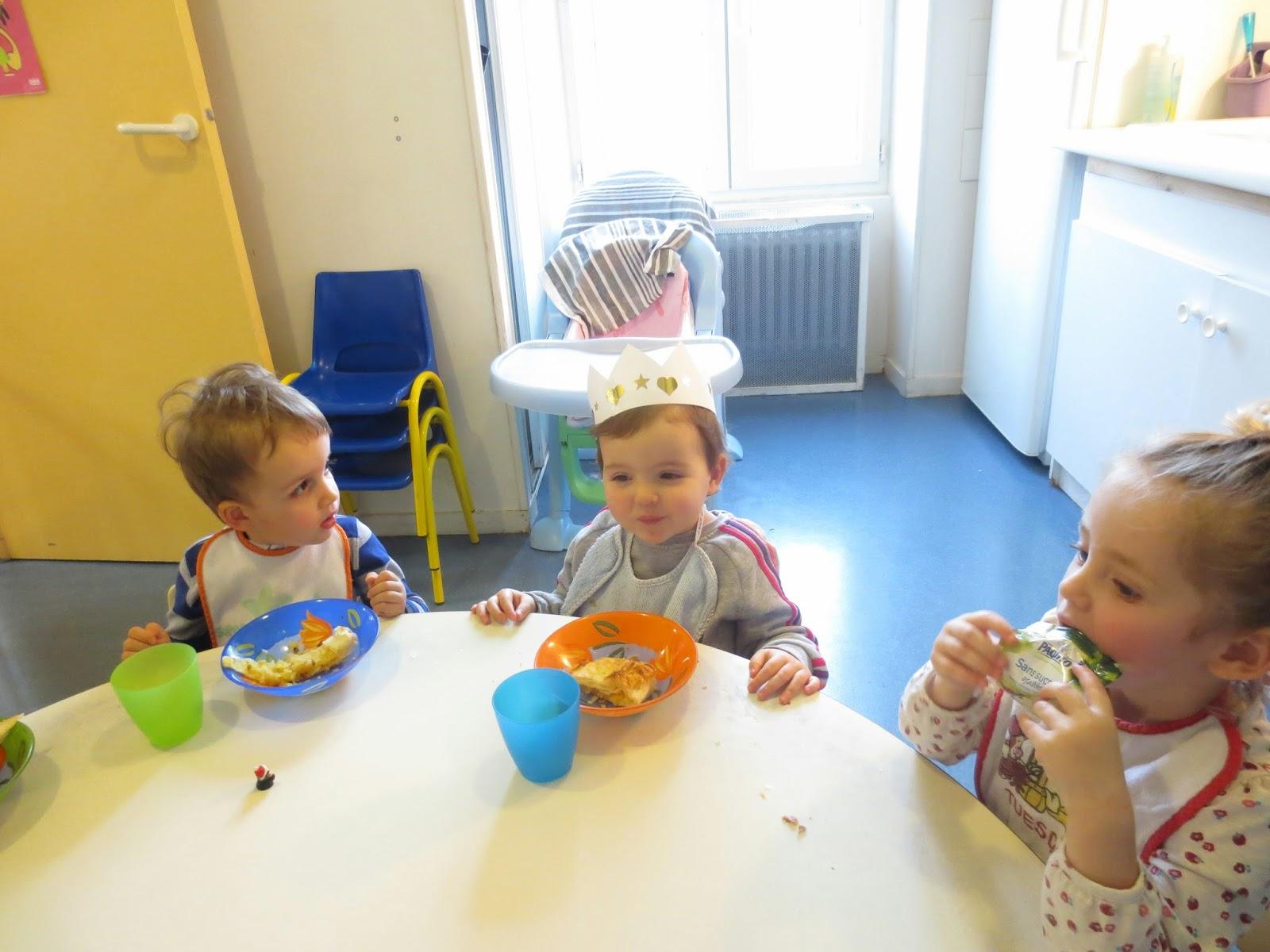 Cr che lou pichou activit galette des rois for Objectif atelier cuisine en creche