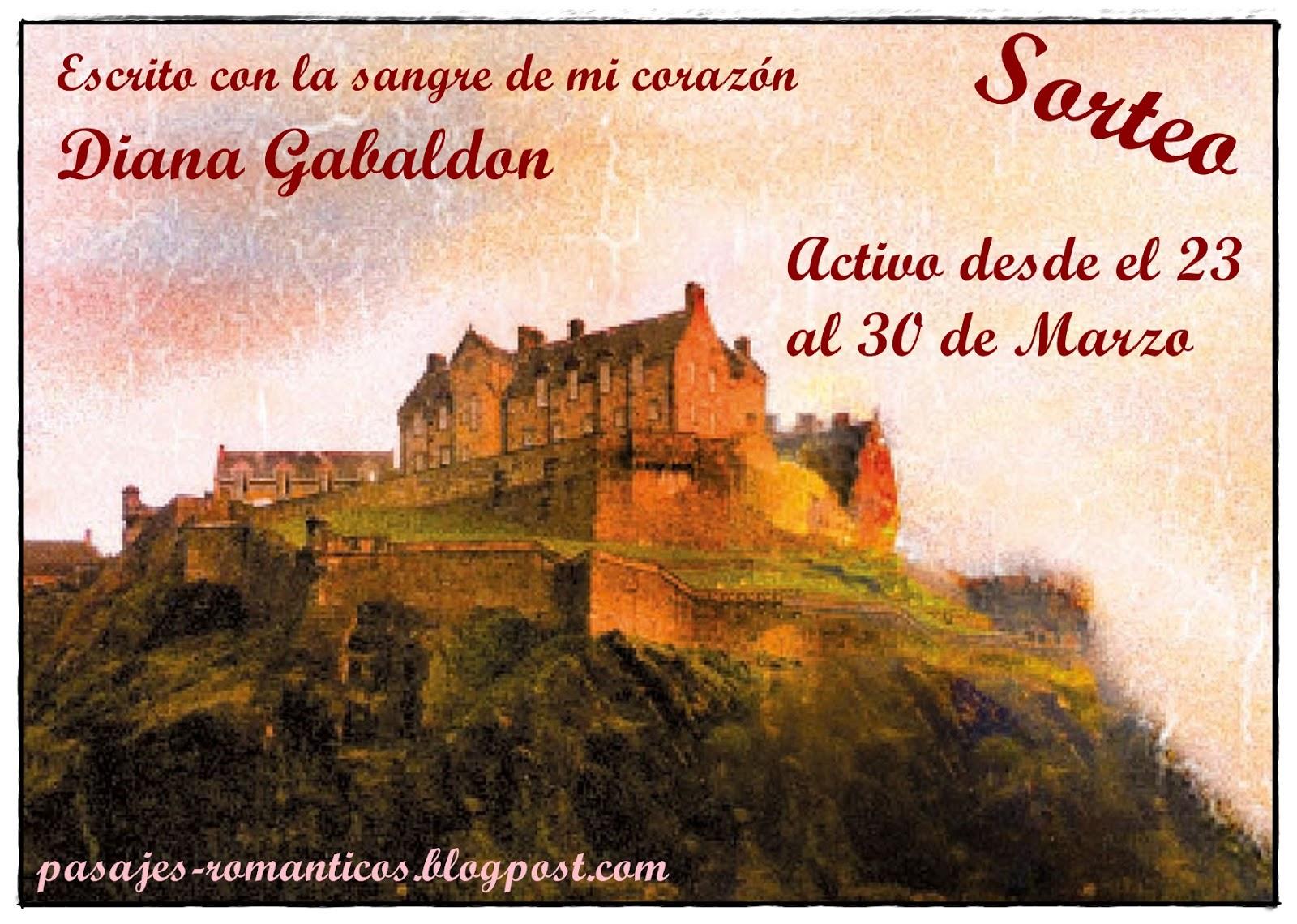 Sorteo: Diana Gabaldon