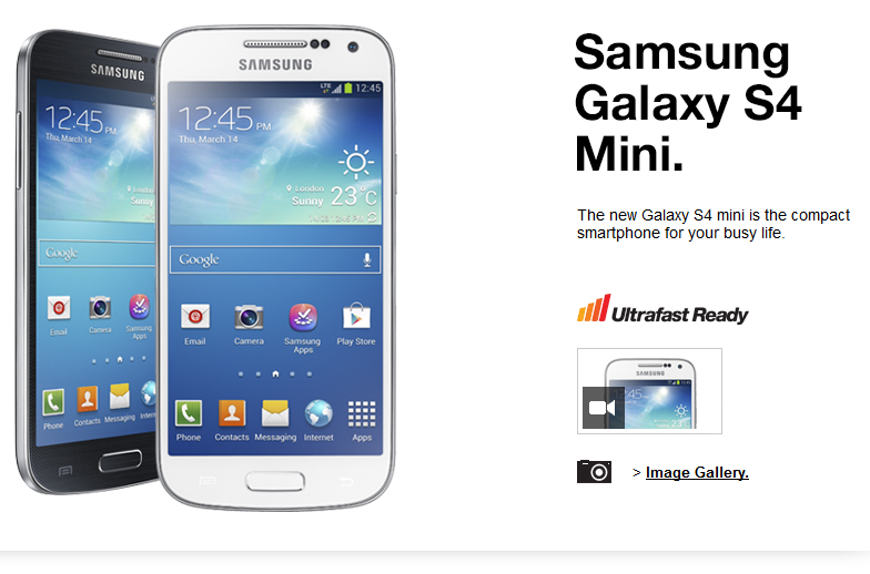 Produk Terbaru Samsung - Samsung S4 Mini