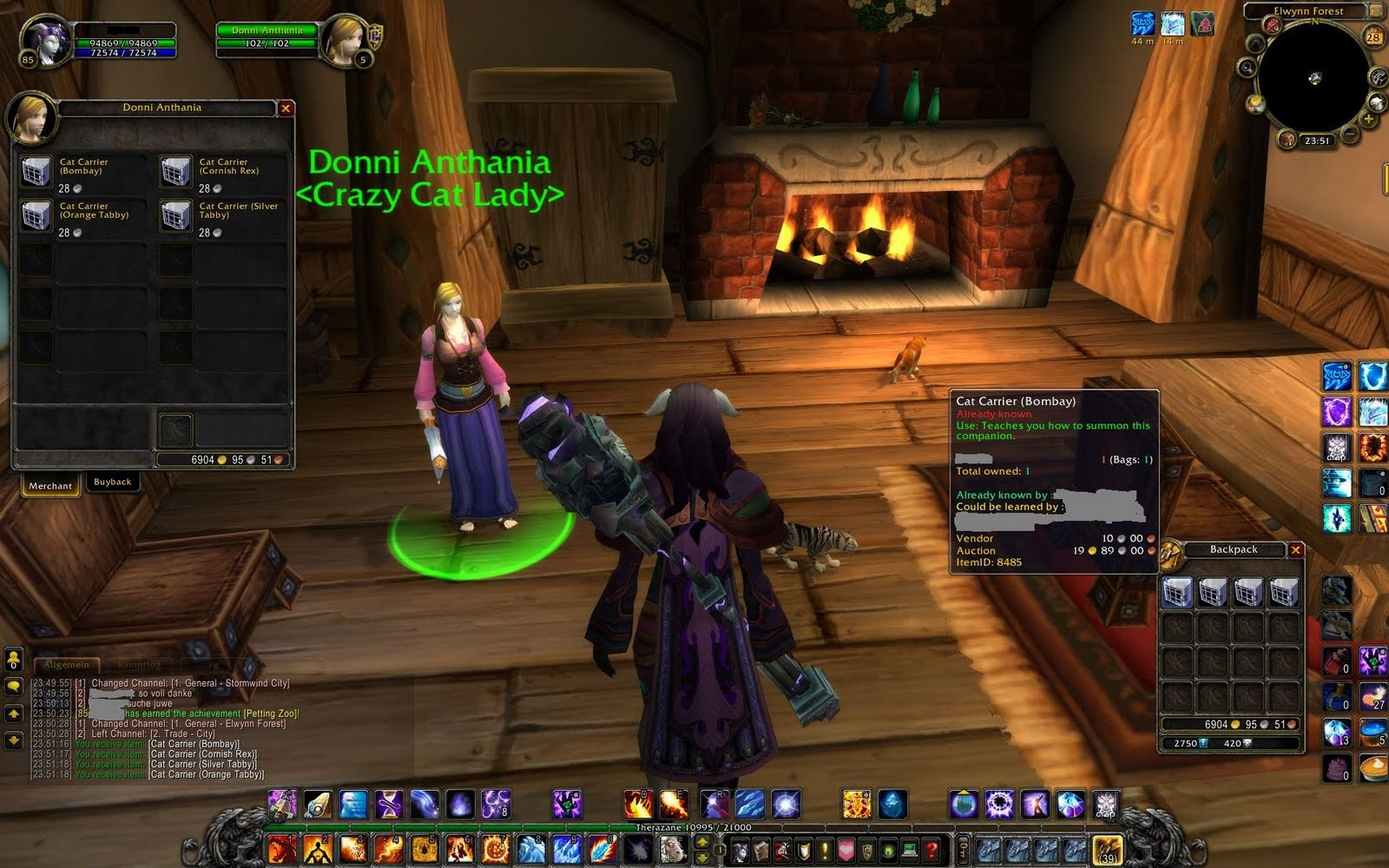 My review: Companion world of warcraft pets