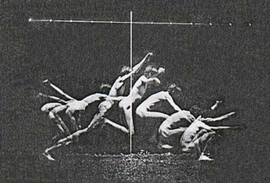 Study in Human Motion. Photograph by Thomas Eakins. 1880s