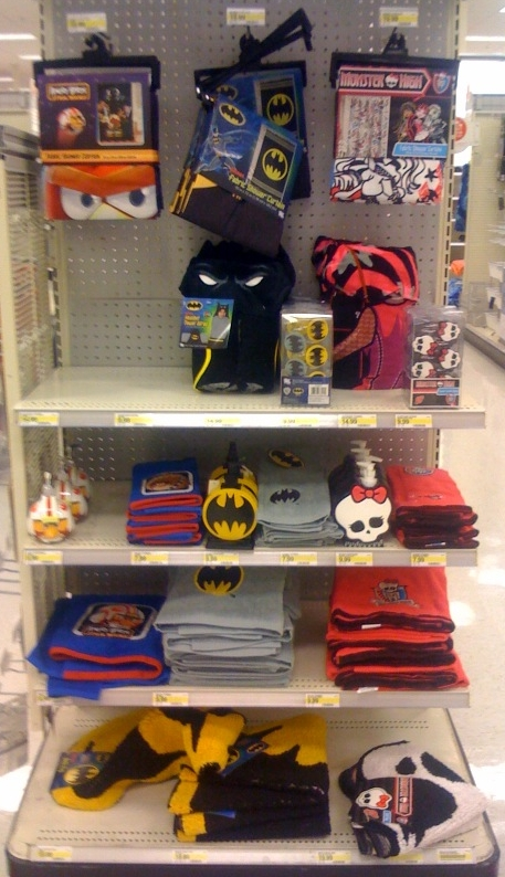 Merveilleux New BATMAN BAT SYMBOL BATHROOM ACCESSORIES Sold At Target Stores!