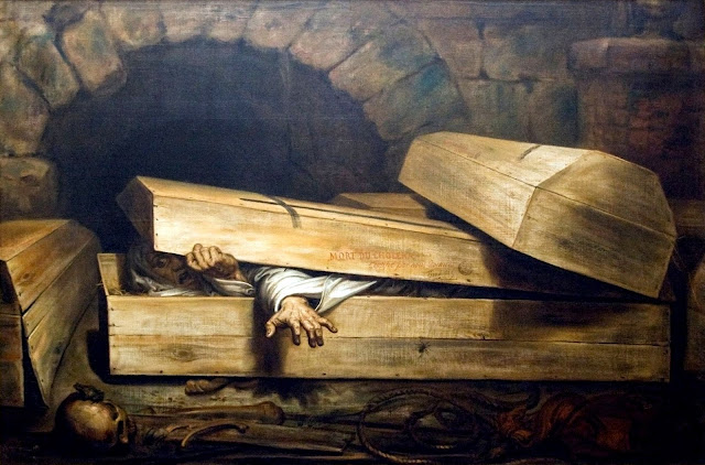 Antoine Wiertz - The premature burial - L'Inhumation précipitée