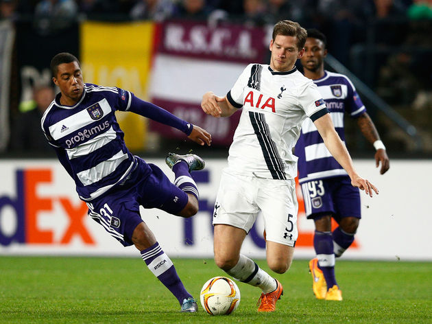 Prediksi Bola Tottenham Hotspur vs Anderlecht 6 November 2015