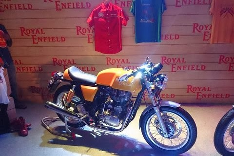 "Royal Enfield Continental GT Launched In India | ""Royal Enfield Continental GT"" 