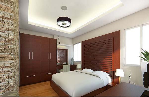 Small bedroom interior design model home interiors